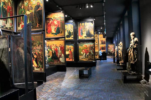 Galeria da Arte Medieval, no Museu Nacional de Varsóvia