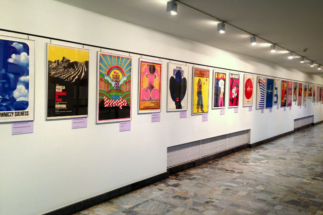 Exposição do Museu de Cartazes (Muzeum Plakatu)