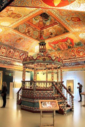 Galeria A Cidade Judaica (1648-1772), no Museu da História dos Judeus Poloneses