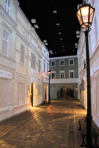 Galeria Na Rua Judaica (1918–1939), no Museu da História dos Judeus Poloneses