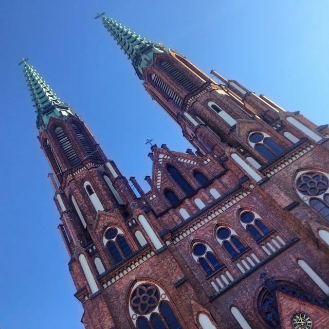 Catedral de São Miguel Arcanjo e São Floriano, o Mártir (via Instagram)