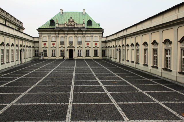 Palácio do Telhado de Cobre (pałac Pod Blachą), no Castelo Real