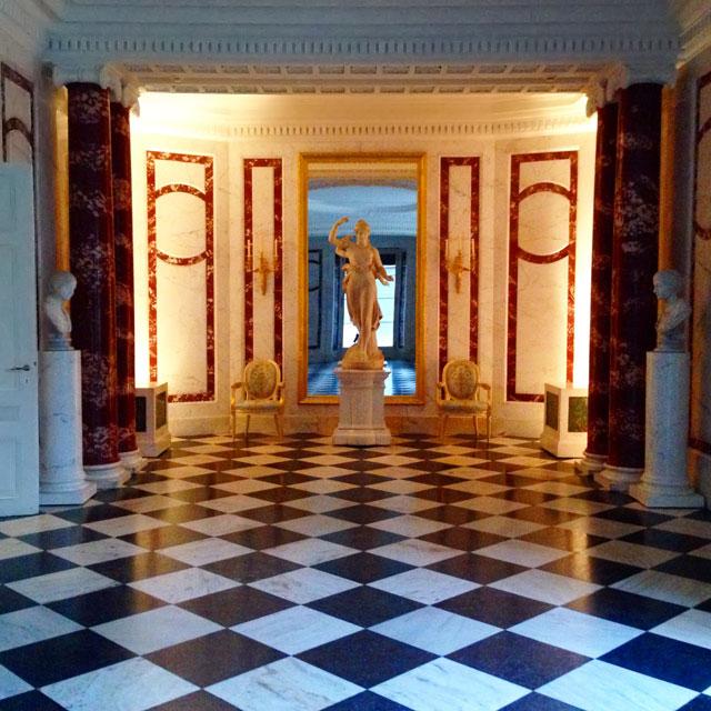 Palácio Łazienki (via Instagram)