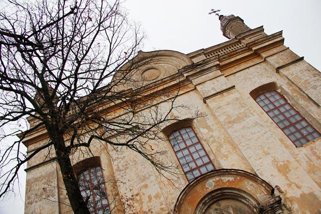 Fachada da Igreja da Santa Trindade