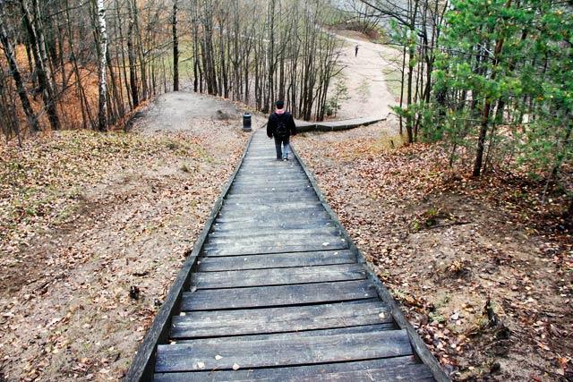 Escadaria da Colina das Três Cruzes