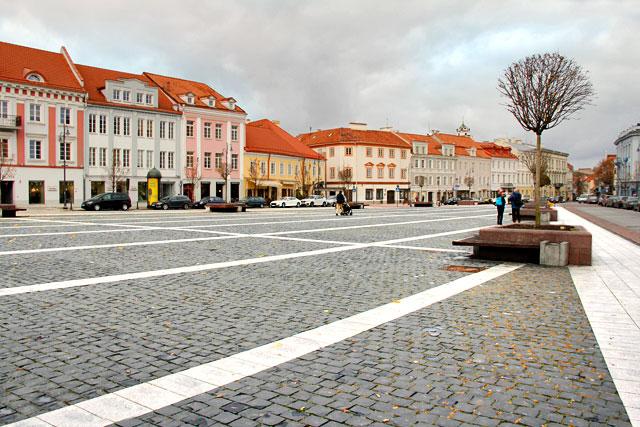 Praça da Prefeitura de Vilnius