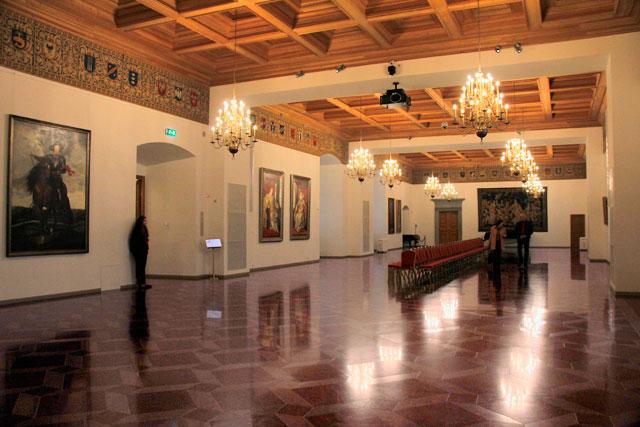 Salão do Palácio dos Grão-duques da Lituânia