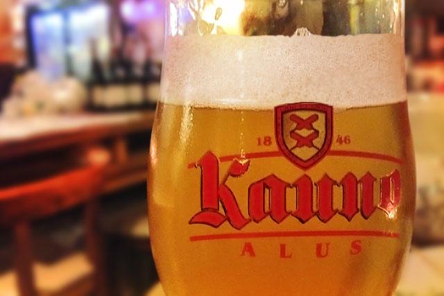 A Kauno é uma das principais cervejas da Lituânia