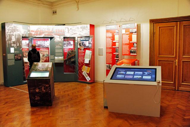 Exposição do Museu da Ocupação da Letônia
