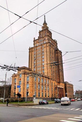 Edifício da Academia de Ciências da Letônia