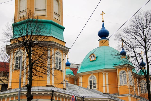Igreja da Anunciação de Nossa Senhora Santíssima (Rīgas Vissvētās Dievmātes Pasludināšanas pareizticīgo baznīca), no