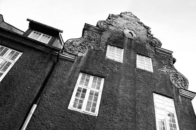 Edifício da Rua Mazā Smilšu, na Cidade Velha