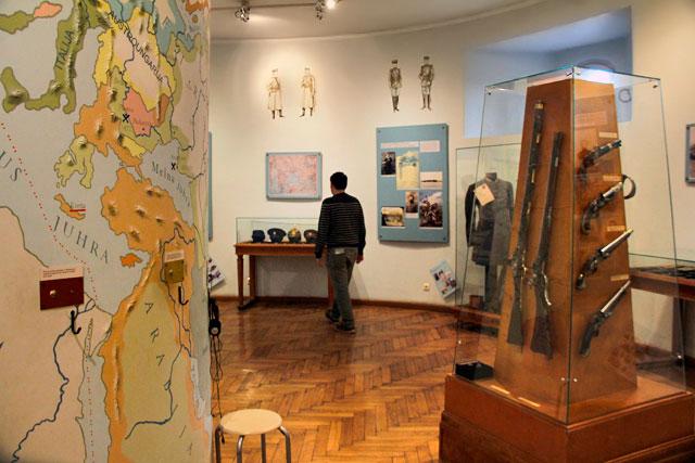 Exposição do Museu Letão da Guerra