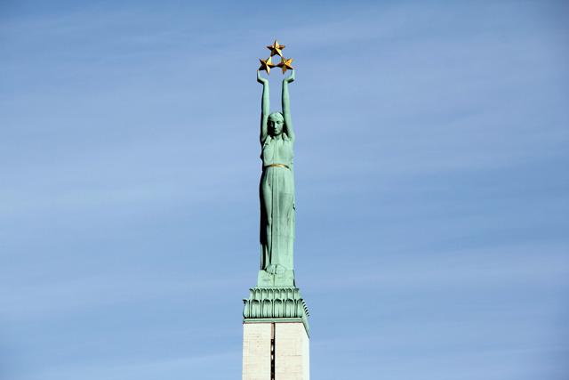 Monumento da Liberdade, em Riga