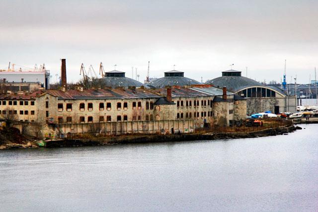Museu da Prisão, visto do Linnahall