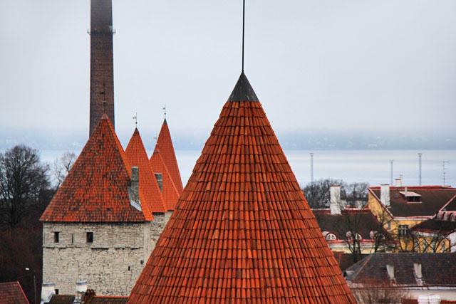Torres da Muralha de Tallinn