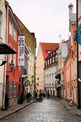 Rua Rataskaevu, na Cidade Velha