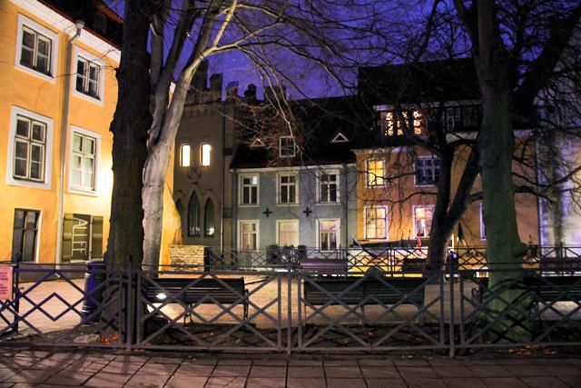 Rua Pikk, na Cidade Velha de Tallinn