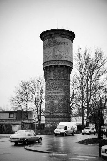 Caixa d'água na Rua Telliskivi