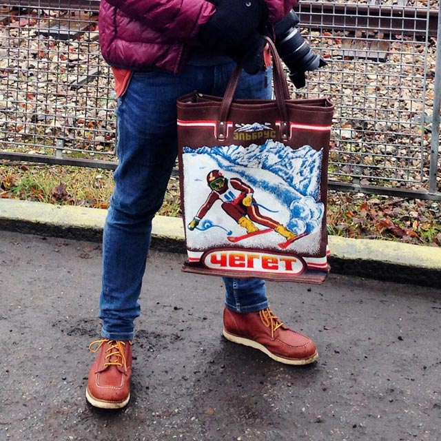 Bolsa comprada na loja da Farida (via Instagram)
