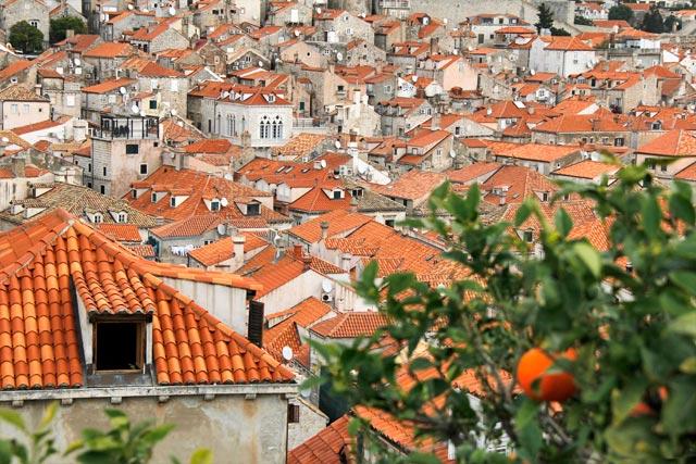 Cidade Velha vista das Muralhas de Dubrovnik