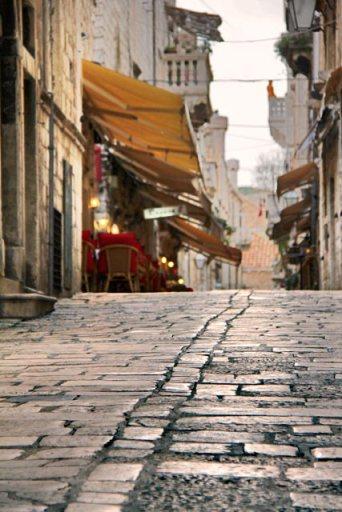 Rua Prijeko, na Cidade Velha