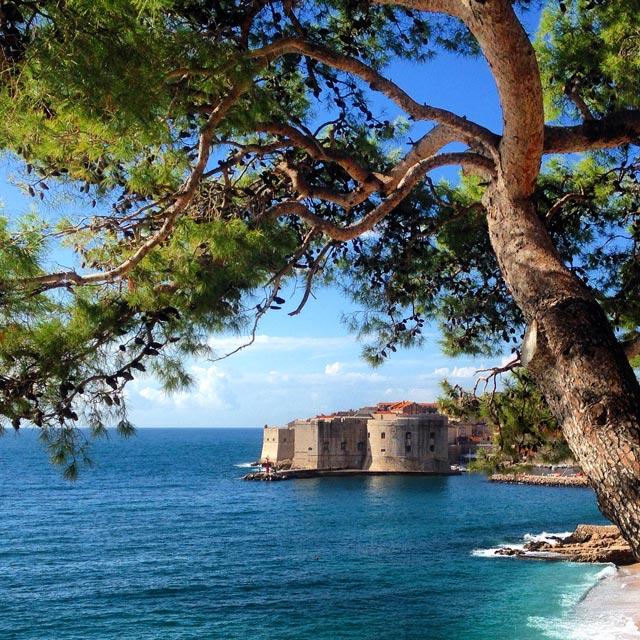 Mar Adriático e Cidade Velha (via Instagram)