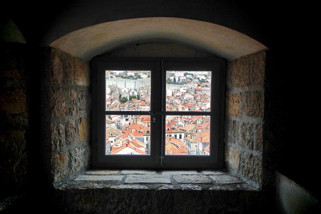 Cidade Velha de Dubrovnik vista do Museu Etnográfico