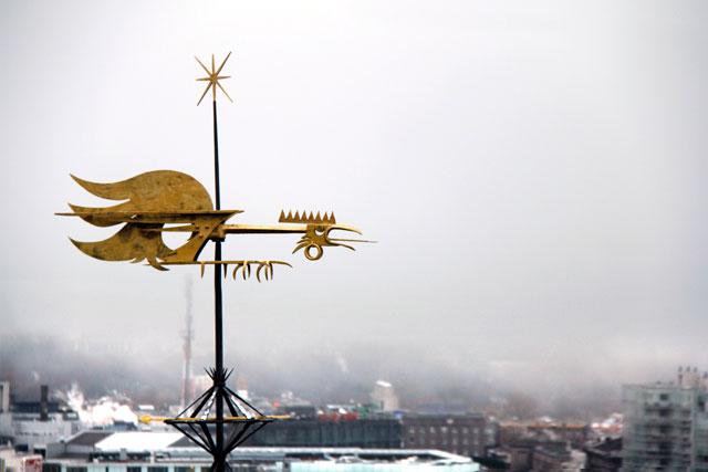Tallinn vista do mirante de Kohtuotsa Vaateplats
