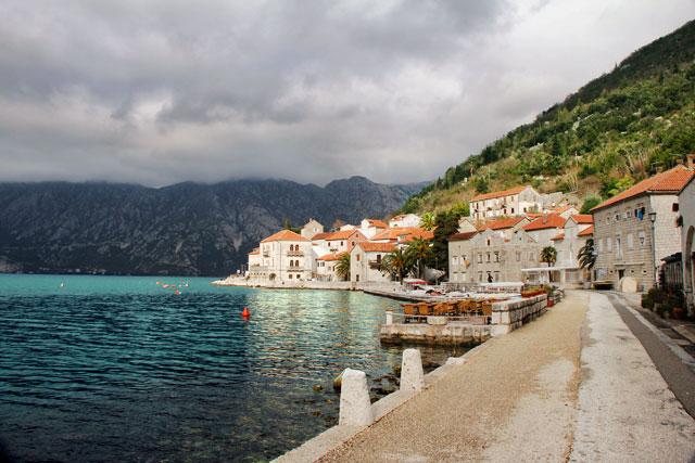Perast, em Montenegro