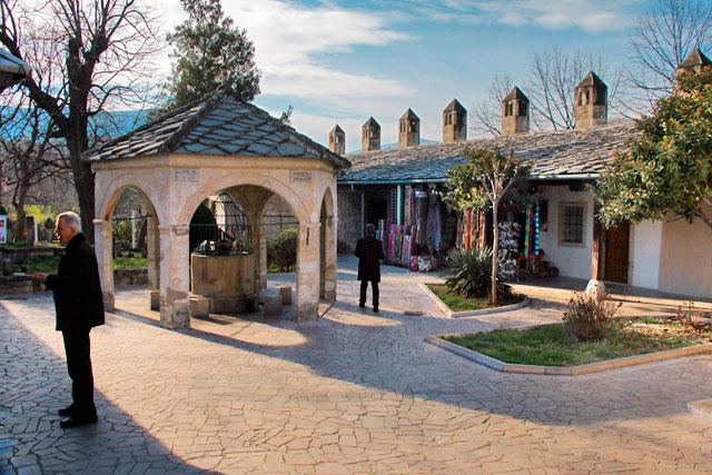 Pátio da Mesquita Koski Mehmed-pašina