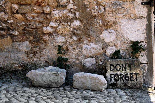 """Don't forget '93"", na rua Kujundžiluk"